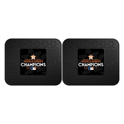 Houston Astros Fan Mats World Series Champions Utility Mat 2pc Set - image 1 of 2