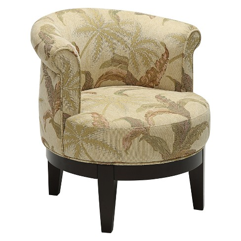 Christopher Knight Home Titan Swivel Accent Chair Brown - image 1 of 4