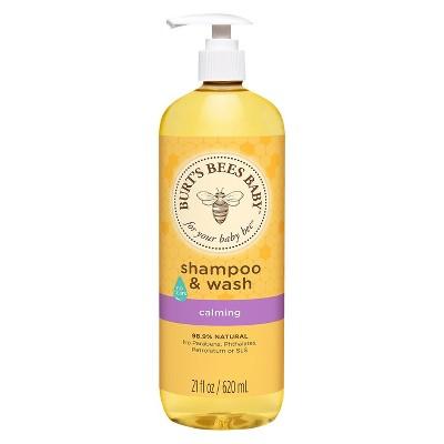 Burt's Bees Baby Shampoo & Wash, Calming - 21oz
