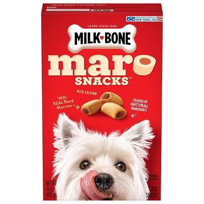 Milk-Bone Maro Snacks with Real Bone Marrow Dog Treats