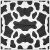 """Blue Panda 100-Pack Cow Print Farm Animal Party Napkins, Disposable Paper Napkin, Baby Shower Supplies, 6.5"""" - image 3 of 3"""