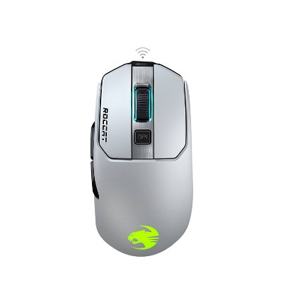ROCCAT Kain 202 Aimo Wireless PC Gaming Mouse - White