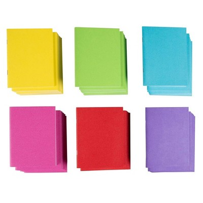 """48-Pack Colorful Blank Notebooks Bulk, 4.25"""" x 5.5"""" Pocket Journal for Travelers & Diaries"""