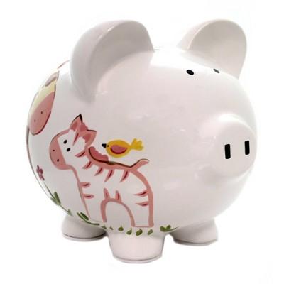"Bank 7.75"" Large Jungle Jill Bank Monkey  Money  -  Decorative Banks"