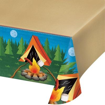 Camping Plastic Tablecloth