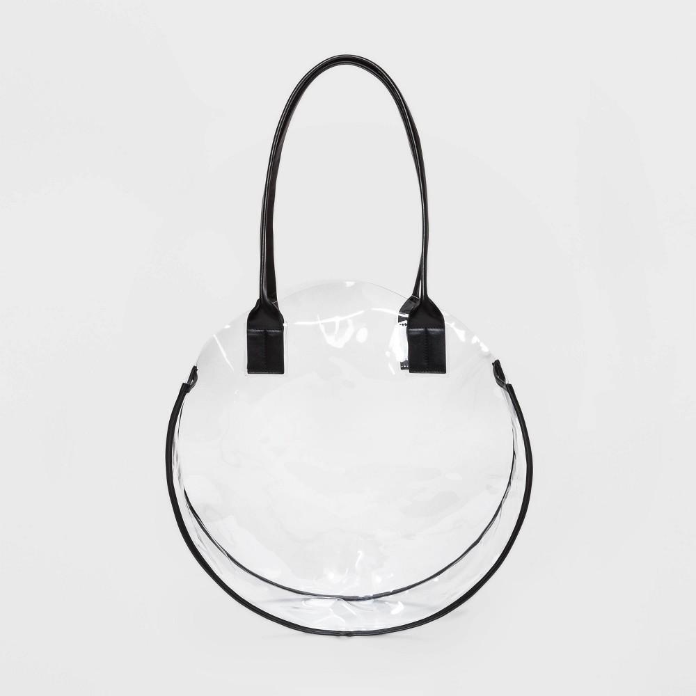 Translucent Clear Tote Handbag - Shade & Shore Black
