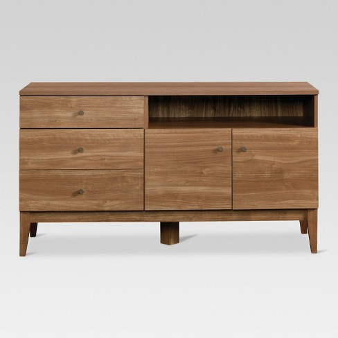52 Siegel Tv Stand Fine Walnut Project 62 Target