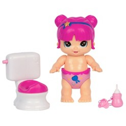 Little Live Bizzy Bubs Baby Doll Clever Chloe with Potty
