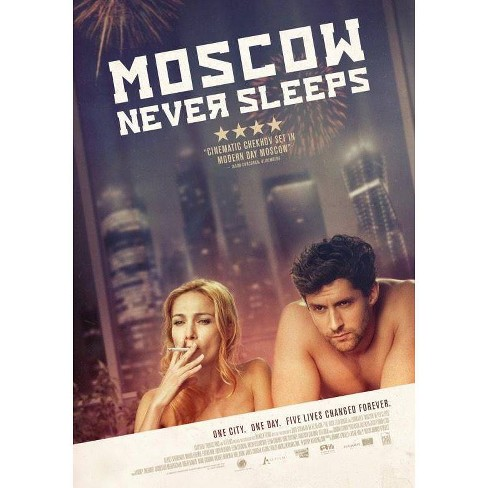 Moscow Never Sleeps (DVD) - image 1 of 1