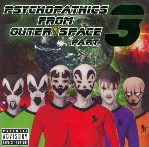 Various - Psychopathics from outer space part 3 [Explicit Lyrics] (CD) - image 1 of 1