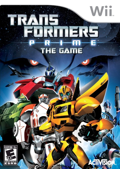 Transformers Prime: The Game Nintendo Wii - image 1 of 1