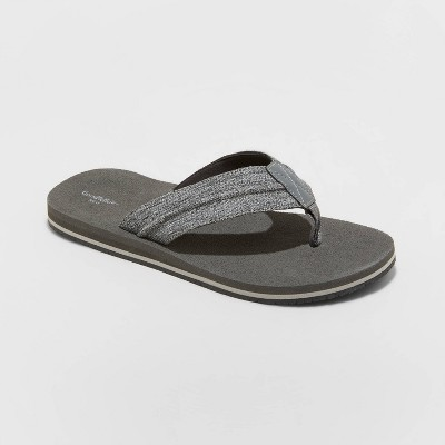 Men's Fred Flip Flop Sandals - Goodfellow & Co™ Black