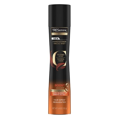 Hair Spray: TRESemmé Compressed Boost Hairspray Hold Level 3