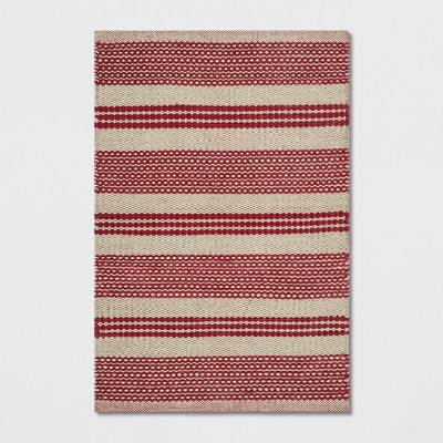 2'X3' Stripe Accent Rugs Red - Threshold™