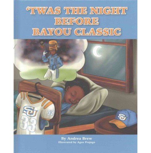 Twas the Night Before Bayou Classic (Hardcover) (Andrea Brew) - image 1 of 1