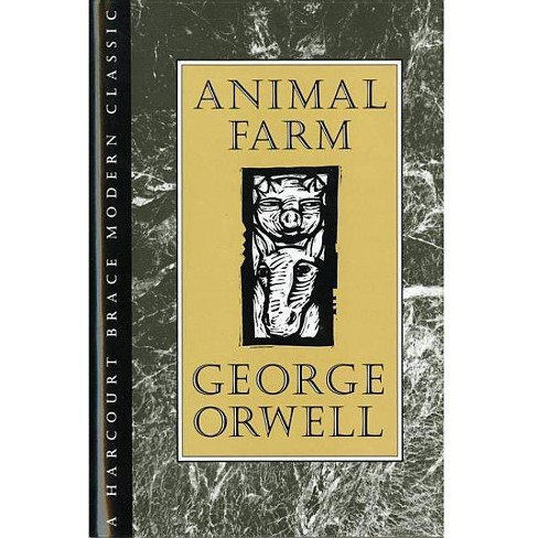 Animal Farm - (HBJ Modern Classic) by  George Orwell (Hardcover) - image 1 of 1