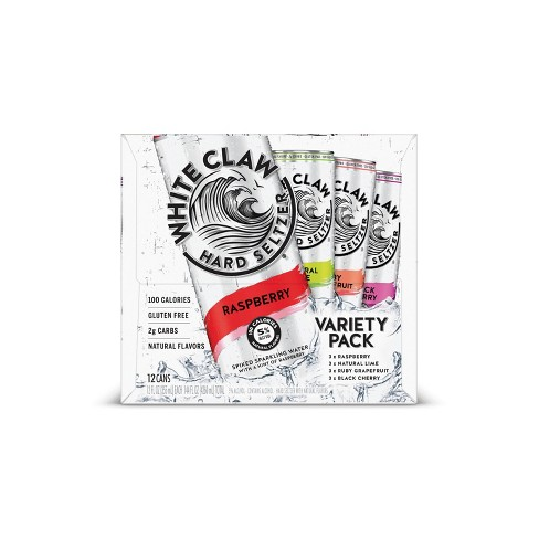 White Claw Variety Pack - 12pk / 12 fl oz Cans
