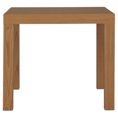 Jade Hollowcore End Table Natural - Room & Joy