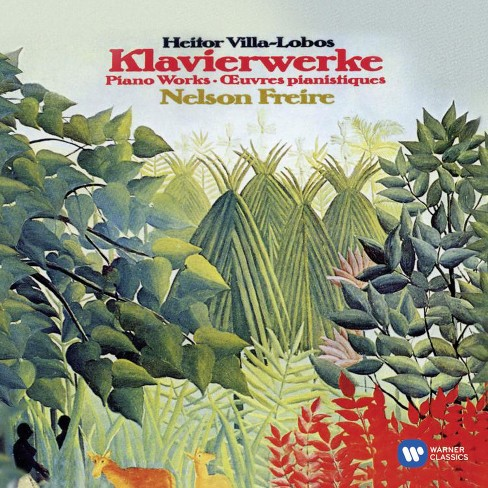 Nelson freire - Villa lobos:Piano works (CD) - image 1 of 1