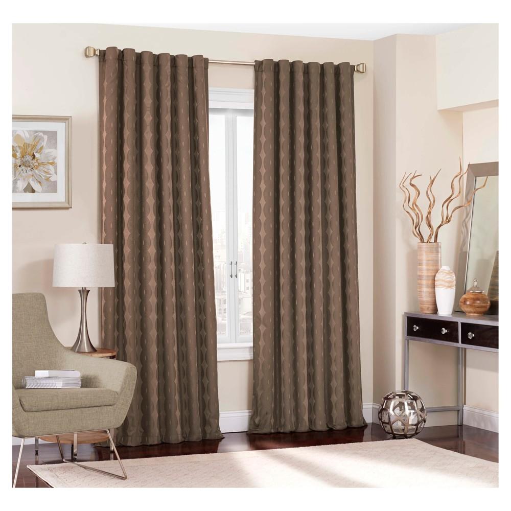 Adalyn Blackout Curtain Brown (52