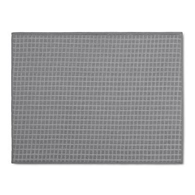 Gray&nbspCheck&nbspKitchen Drying Mat&nbsp - Room Essentials™