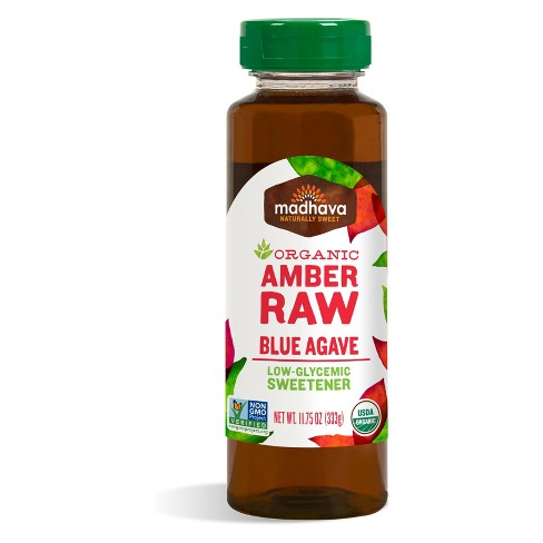 Madhava Organic Amber Raw Blue Agave - 11.75oz - image 1 of 1