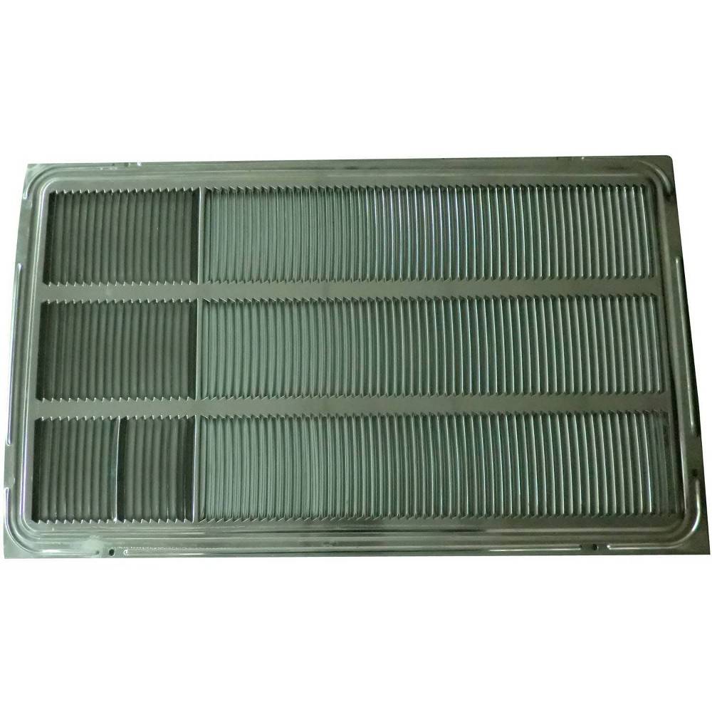 LG Electronics 26  Wall Sleeve Stamped Aluminum Rear Grille The LG AXRGALA01 Stamped Aluminum Rear Grille is an optional accessory to the LG AXSVA1 wall sleeve for through-the wall air conditioners. It is generally used to prevent damage to the back outer coils of the air conditioner and for keeping birds and small animals from nesting in the wall sleeve. Color: Gray. Gender: unisex.