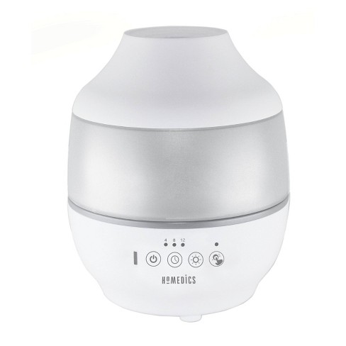 0.5gal Cool Mist Ultrasonic Humidifier with Aroma White - Homedics - image 1 of 4