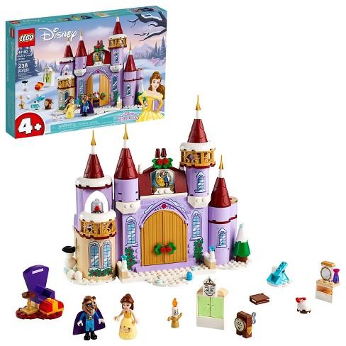 LEGO Disney Belle's Castle Winter Celebration Disney Princess Building Kit 43180 - image 1 of 4