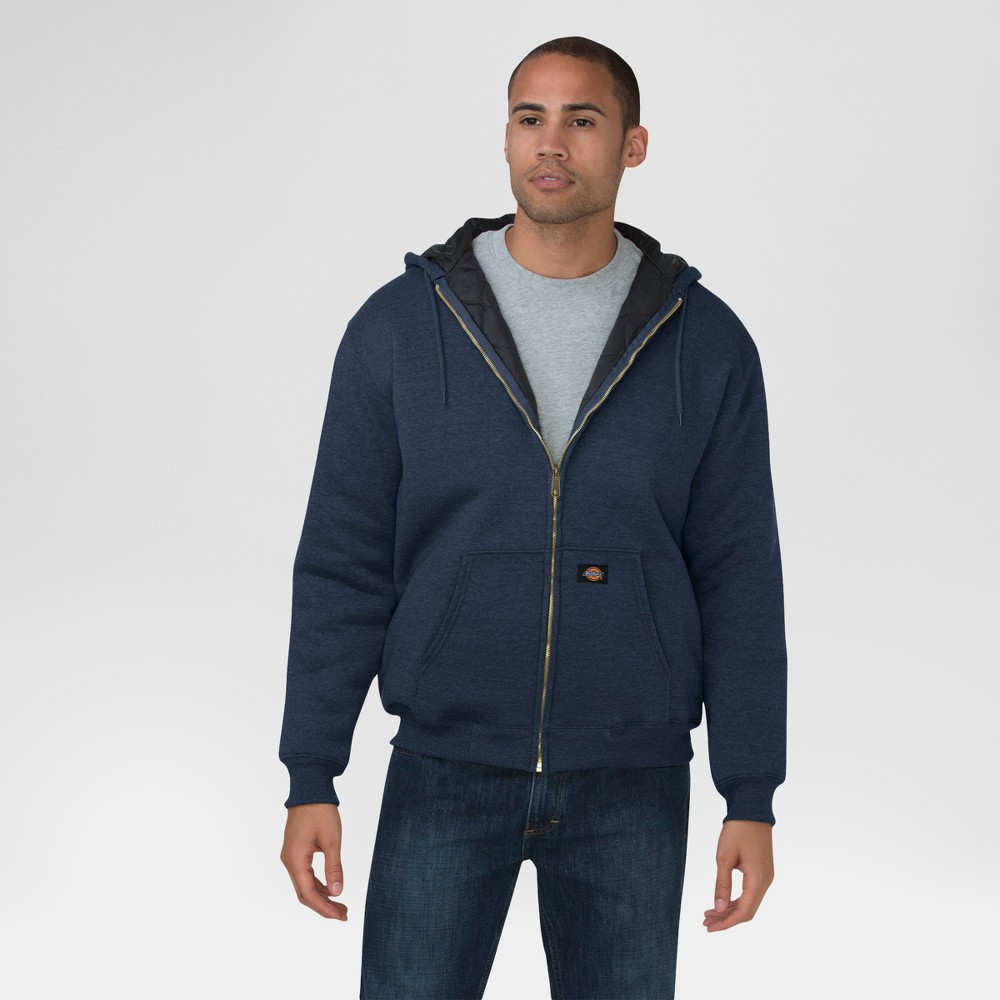 Dickies Men's Heavyweight Fleece Hoodie - Navy (Blue) XL