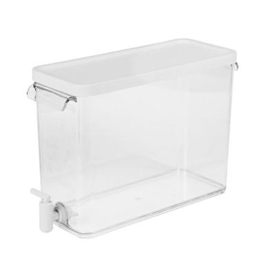 Plastic Beverage Dispenser 2.5gal - White