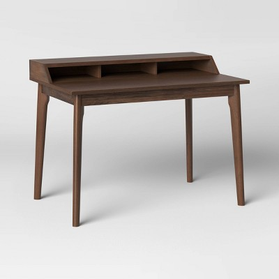 Mid-Century Writing Desk with Hutch Walnut - Project 62™