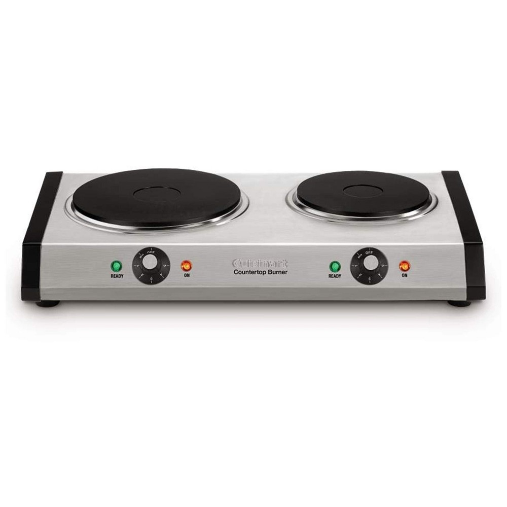 Cuisinart Countertop Burner - Stainless Steel CB-60, Silver