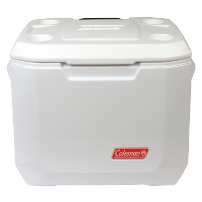Coleman 50qt Xtreme Wheeled Marine Cooler - White