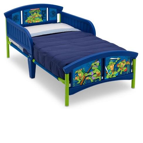 Nickelodeon Teenage Mutant Ninja Turtles Plastic Toddler Bed Target