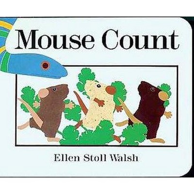 Mouse Count - by Ellen Stoll Walsh (Board Book)