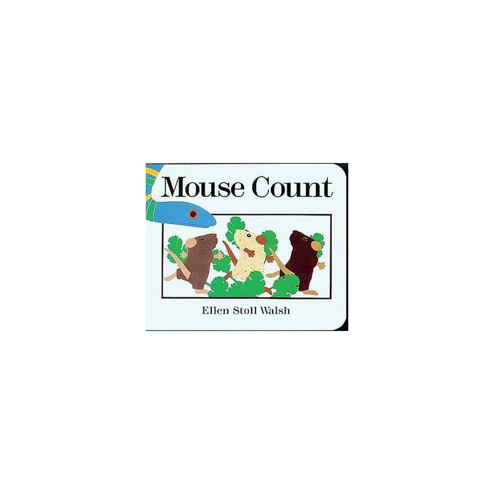 Mouse Count By Ellen Stoll Walsh Board Book