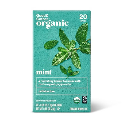 Organic Mint Tea - 20ct - Good & Gather™