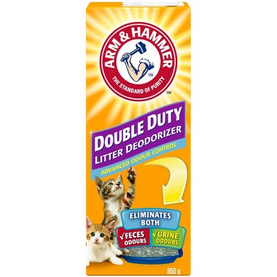Arm & Hammer Double Duty Cat Litter Deodorizer, Advanced Odor Control - 30oz