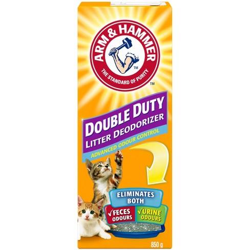 Arm Hammer Double Duty Cat Litter Deodorizer Advanced Odor Control 30oz