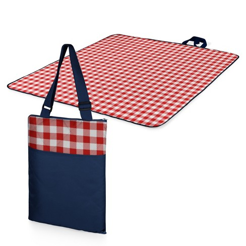 Picnic Time Vista Blanket - Red Check with Navy - image 1 of 6