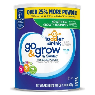 Go & Grow by Similac Toddler Drink Powder - 30.8oz
