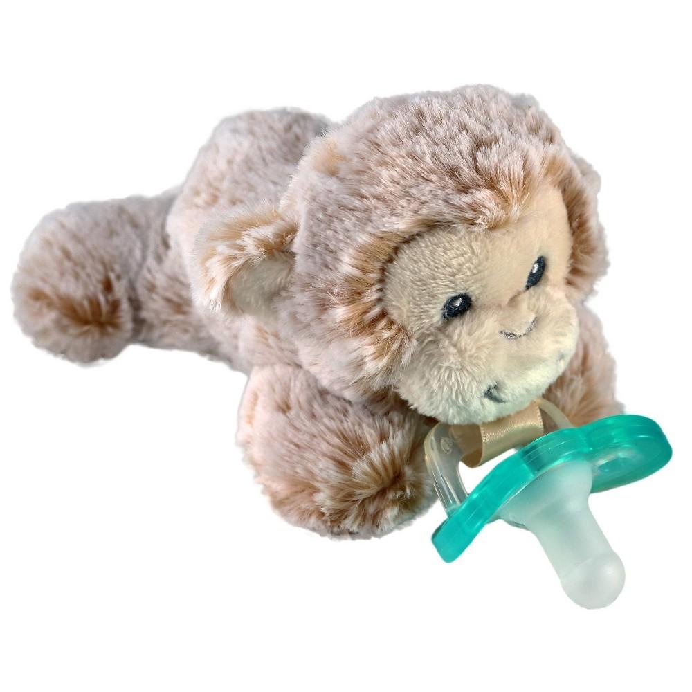 Image of RaZbuddy Paci Holder - JollyPop - Monkey, Brown