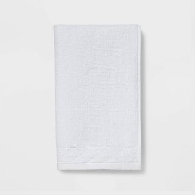 Diamond Band Terry Hand Towel White - Threshold™