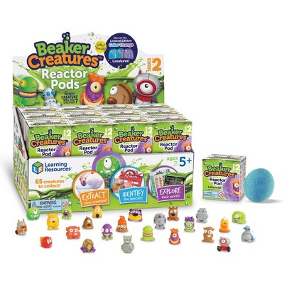 Learning Resources Beaker Creatures Reactor Pods Series 2, 24 Pack