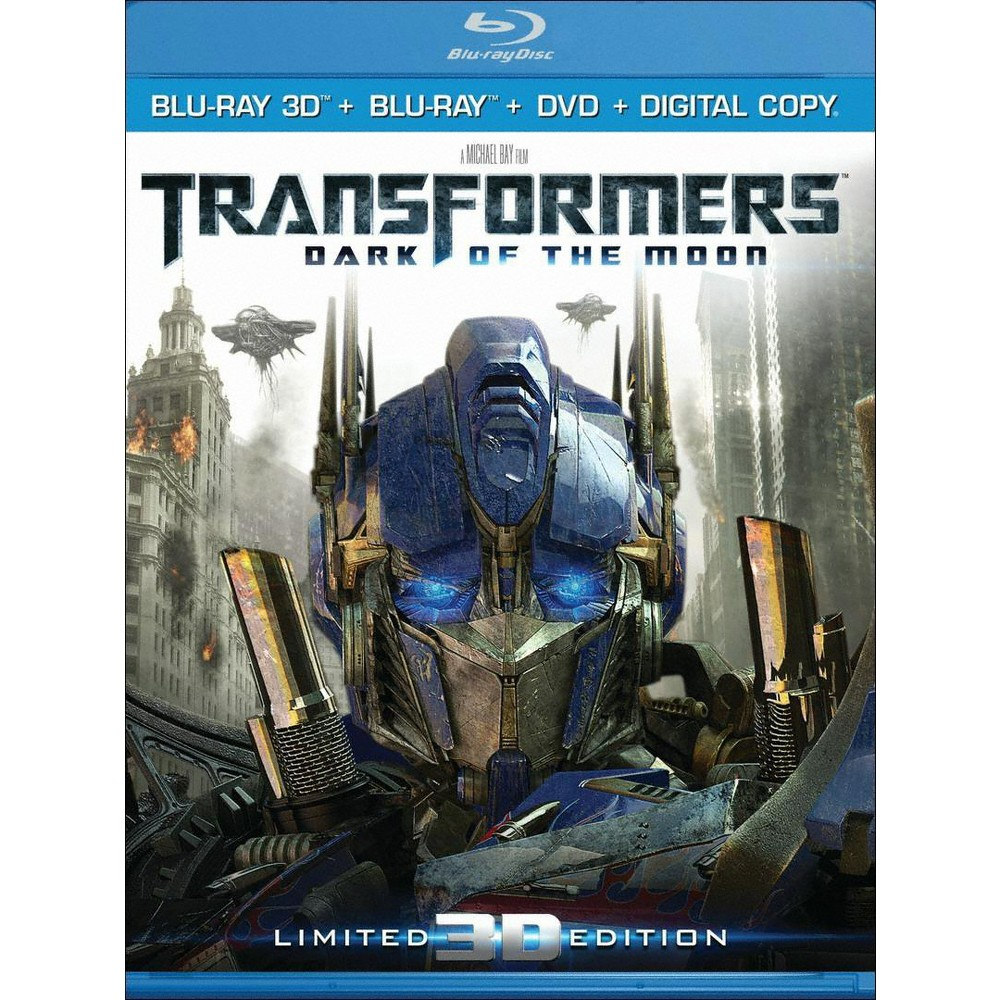 Transformers: Dark of the Moon [Ultimate Edition] [UltraViolet] [3D] [Blu-ray/Dvd]