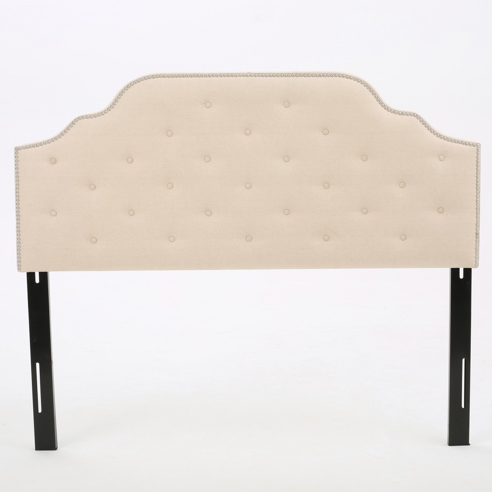 Silas Headboard - Queen/Full - Beige - Christopher Knight Home