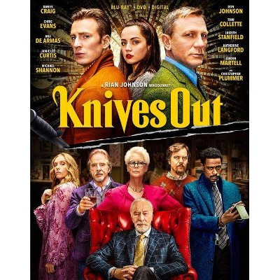 Knives Out (Blu-ray + DVD + Digital)