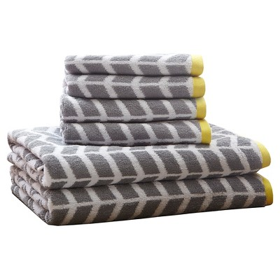 Bath Towels Sets - Gray - (28X54 )