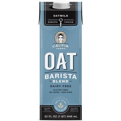 Califia Farms Dairy Free Barista Blend OatMilk - 1qt
